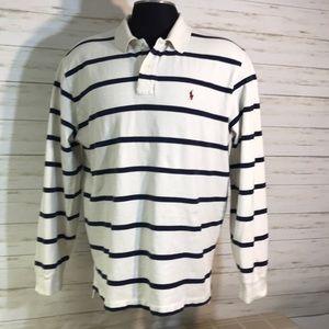 Polo Ralph Lauren Striped Shirt Size XXL
